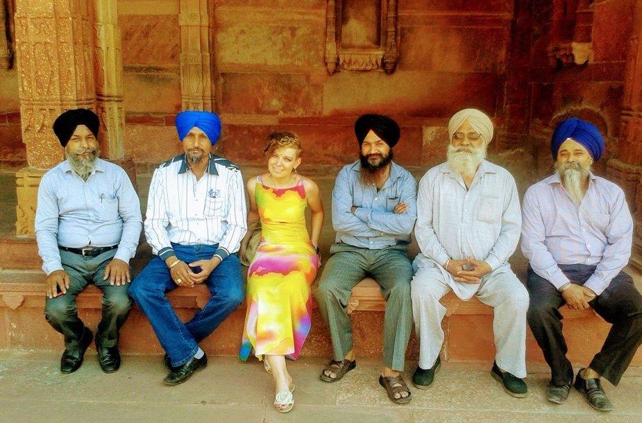 L.Gotautė Indijoje
