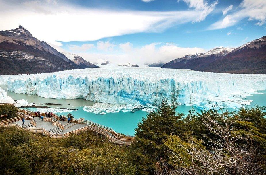 Perito Moreno ledynas Argentinos Patagonijoje