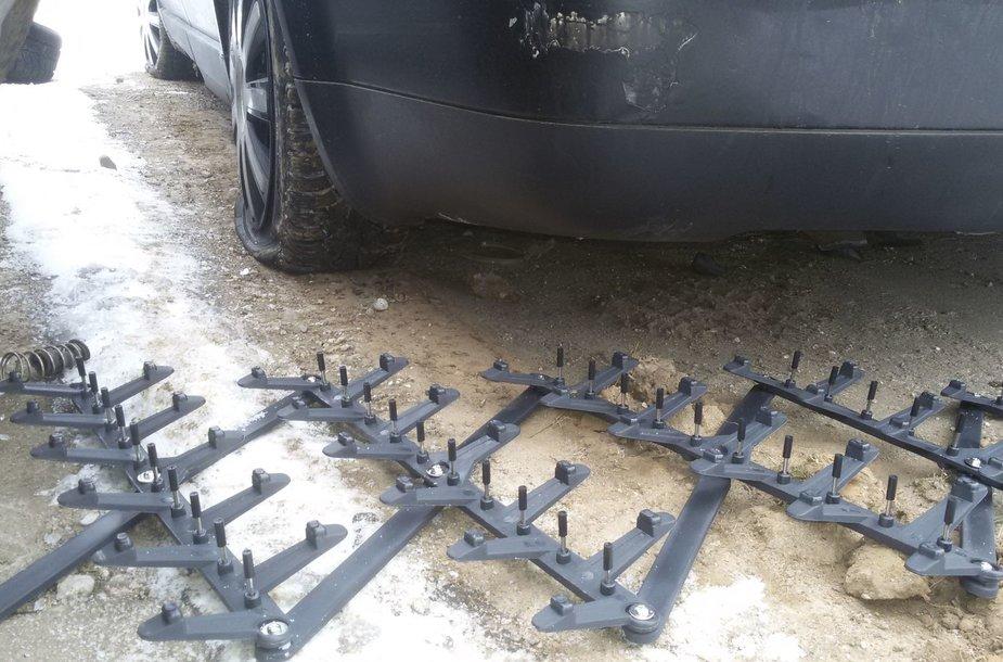 """""""Ežio"""" pagalba Kėdainiuose sustabdytas girtas ir teisių neturintis automobilio vairuotojas"""