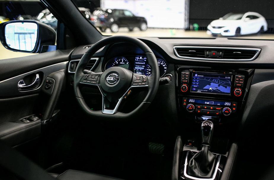 "Konkursas ""Tautos automobilis 2018"": ""Nissan Qashqai"""