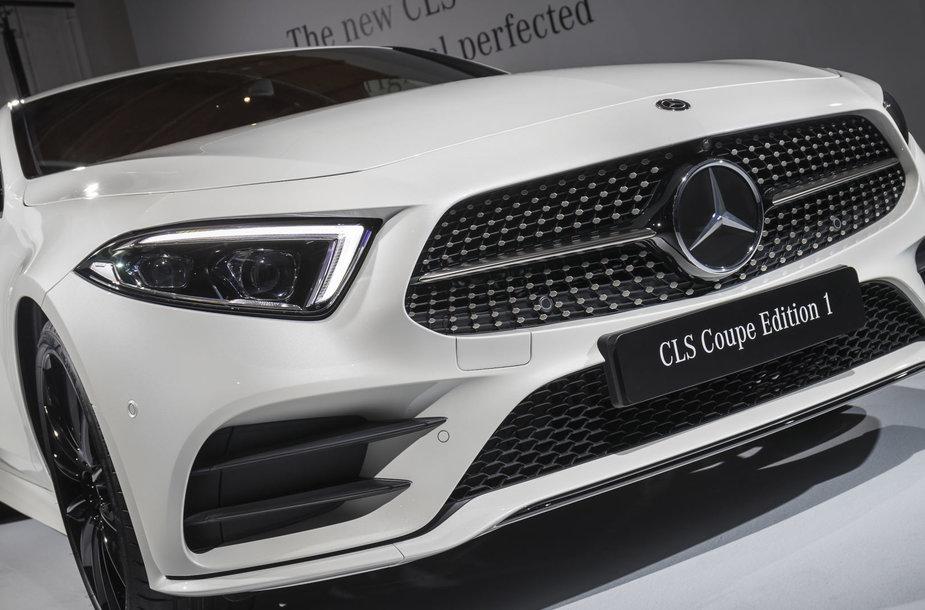 "Los Andžele pristatytas naujas ""Mercedes-Benz CLS"" modelis"