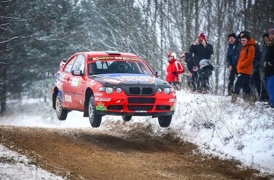 Justas Tamašauskas ir jo BMW