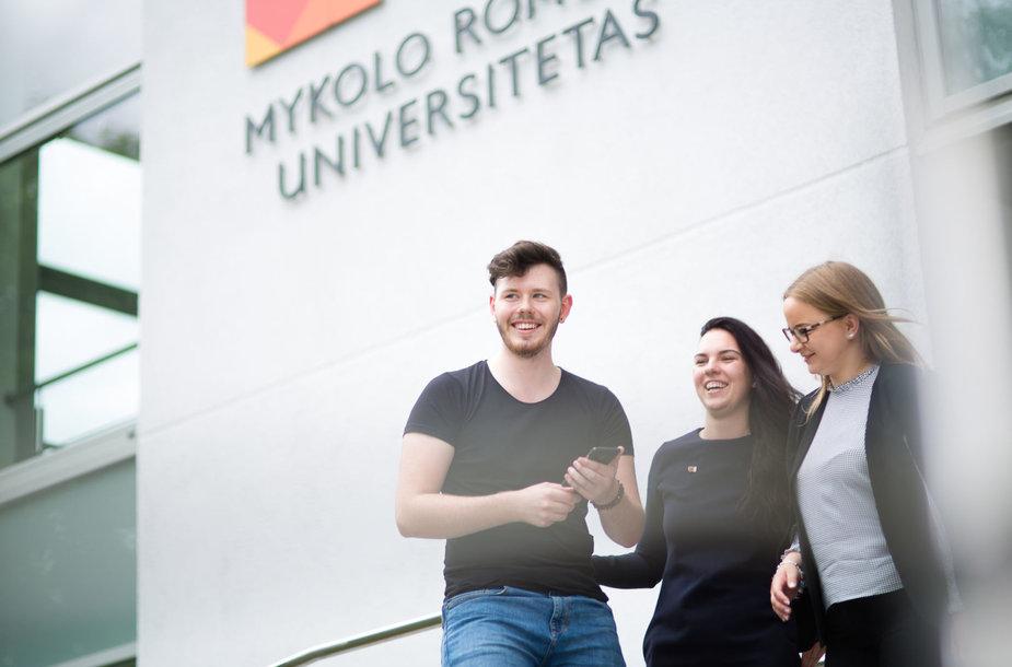 MRU nuotr./Abiturientų sprendžia kur studijuoti