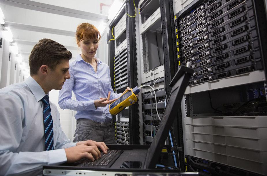 IT specialistai