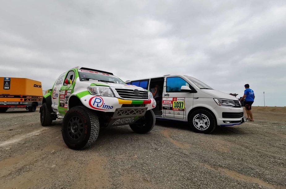Dakaro automobiliai
