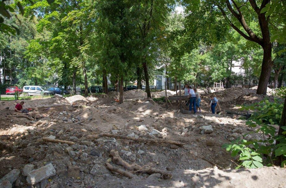Vilniaus Didžiosios sinagogos archeologinių atradimų pristatymas