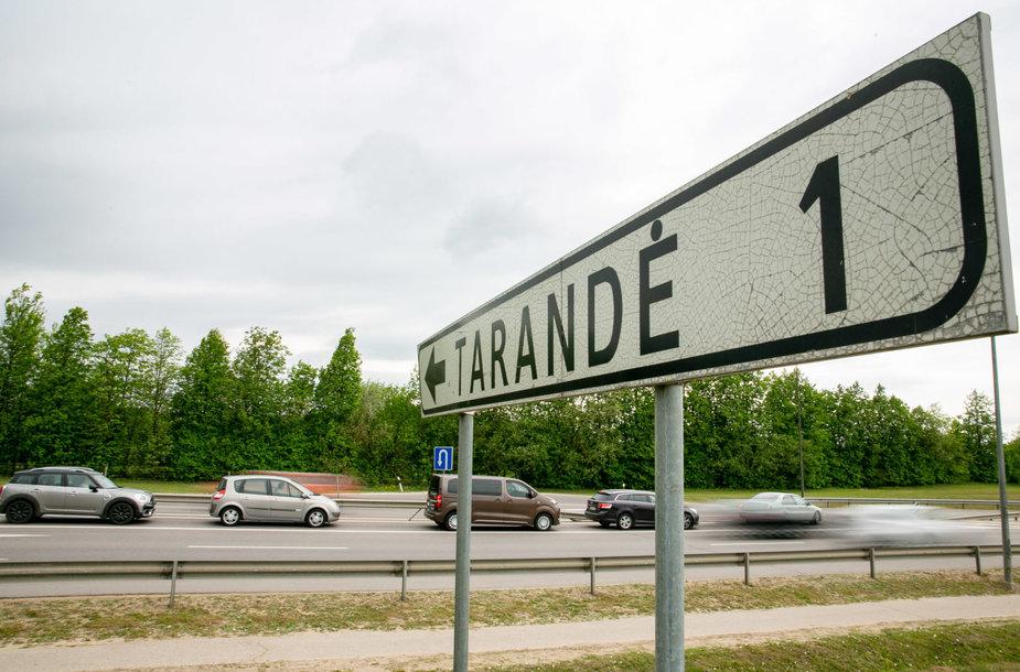 Ukmergės plente prie Vilniaus vietoj posūkio į Tarandę planuoja tunelį