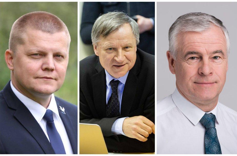 D.Gaižauskas, E.Vareikis, J.Jarutis
