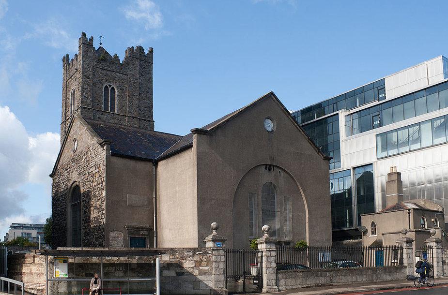 Dubline esanti Šv. Maikano bažnyčia