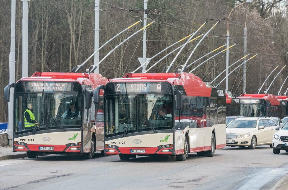 Nauji Vilniaus troleibusai