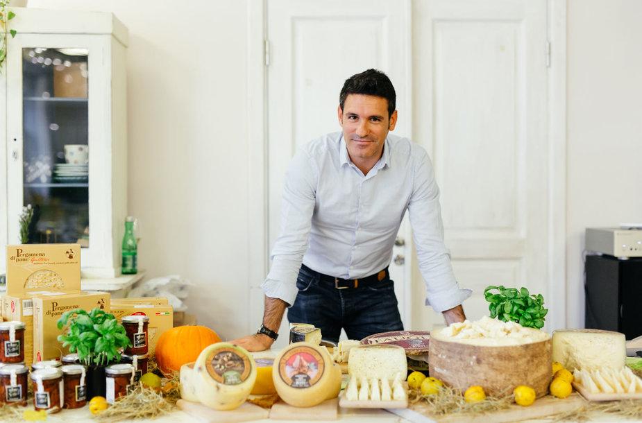 """Sūrio ekspertas Paolo Campigli: """"Gaminant svarbiausia išlaikyti balansą"""""""