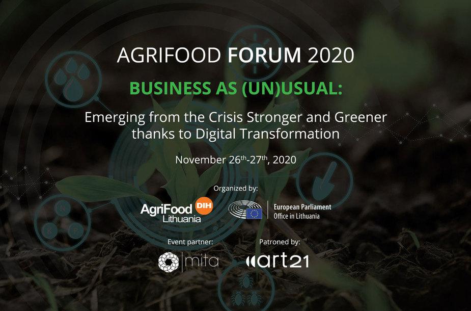 AgriFood Forum 2020 ii