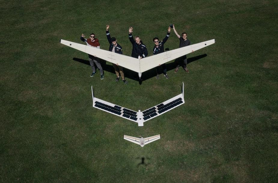 AGAI Solarwing v2 UAV prototype