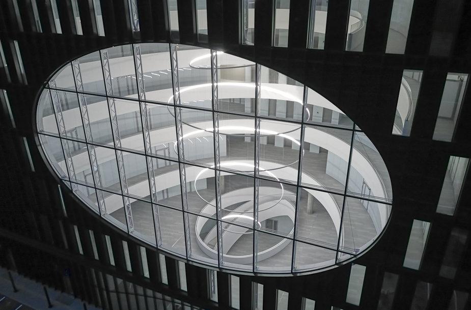 Vilniuje baigtos naujo verslo centro U219 statybos