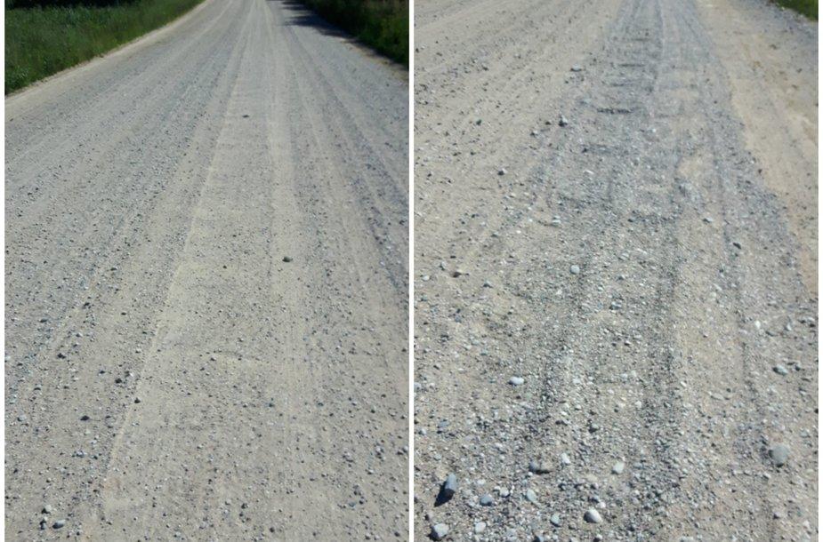 Kelias Vilniaus rajone