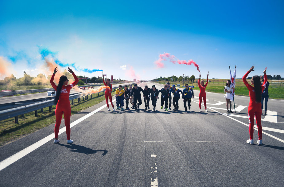 Mechanikų bėgimo varžybos Palangos lenktynėse