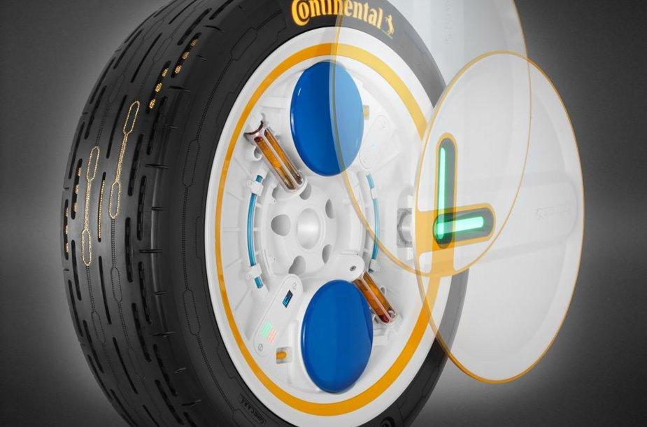 Savavaldžiams automobiliams pritaikytos naujos padangų technologijos