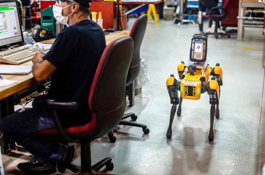Tokie robotai lengvai apeina kliūtis, gali lipti laiptais ir vaikščioti nelygiais paviršiais