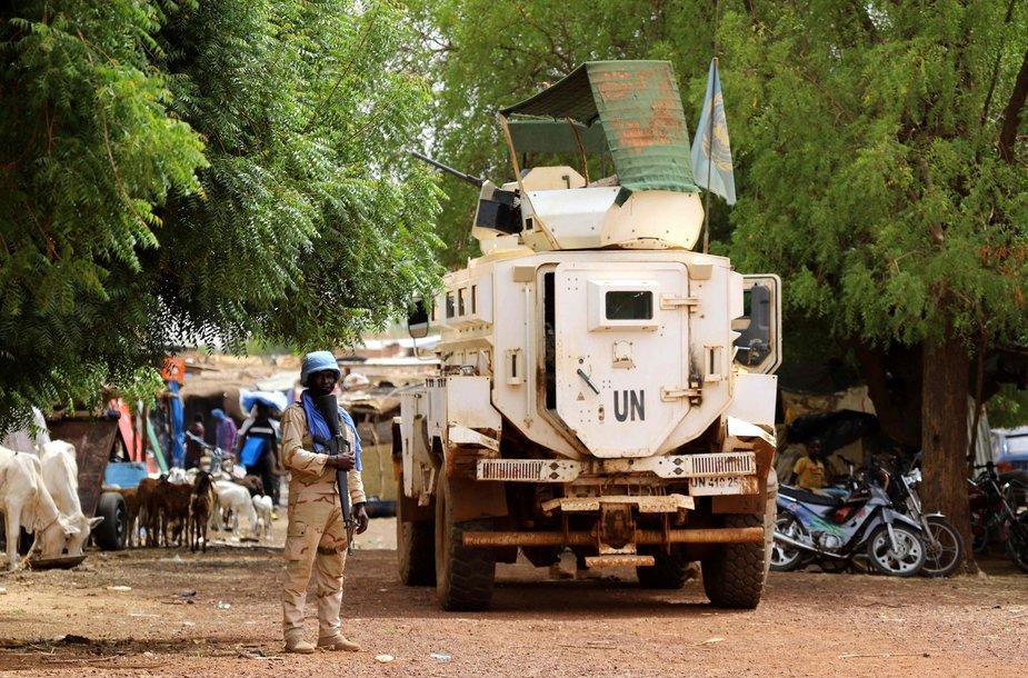 Jungtinių Tautų taikdariai Malyje