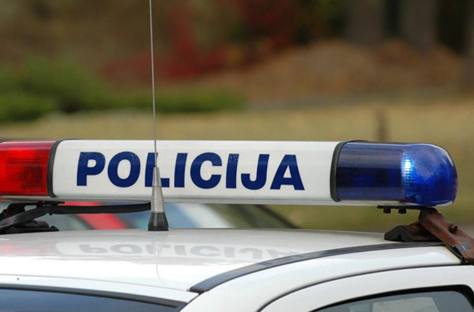 Policija (Andriaus Vaitkevičiaus nuotr.)
