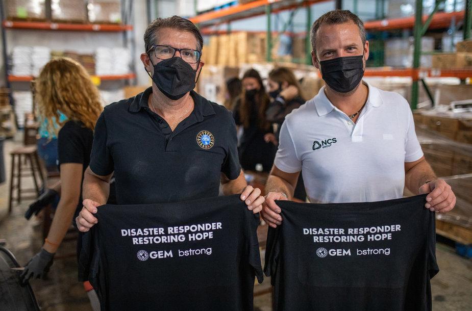 Ignas Jurkonis ir Michael Capponi