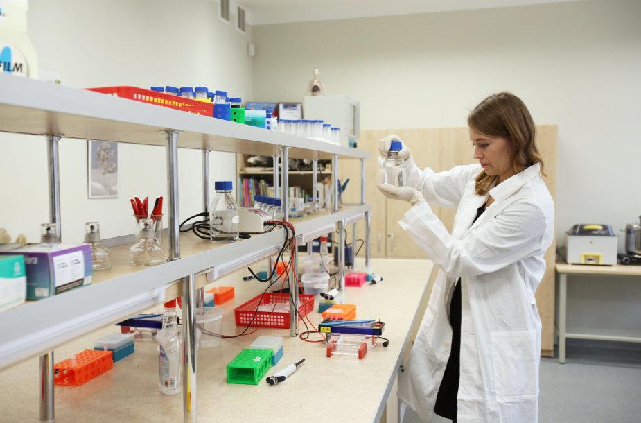 Laboratorijos atidarymas