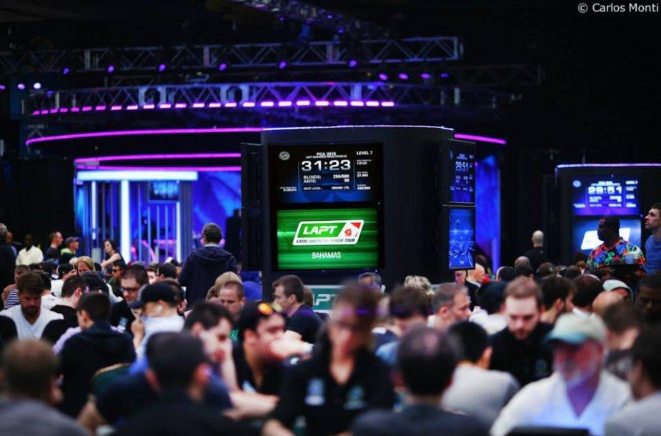 Lotynų Amerikos pokerio turo pirmasis etapas Bahamose
