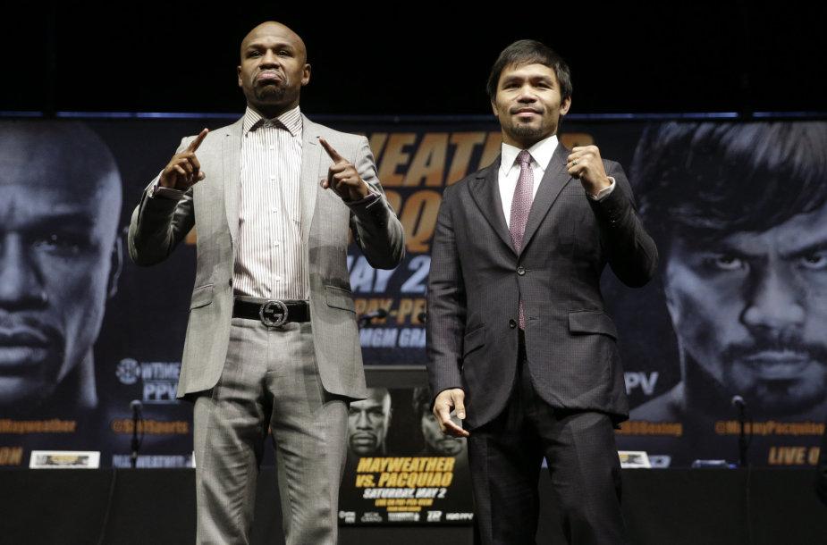 Floydas Mayweatheris ir Manny Pacquiao