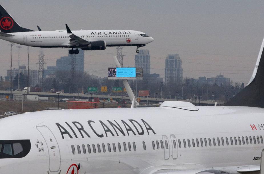 """""""Air Canada"""" lėktuvai"""