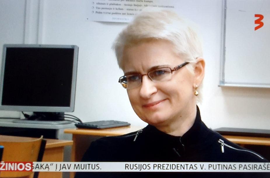 Neringa Venckienė TV3 studijoje
