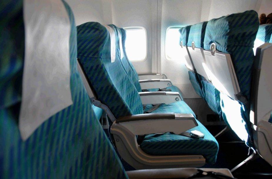 Lėktuvo salonas