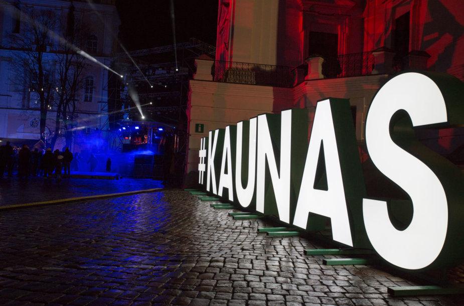 Naujų metų šventė Kaune