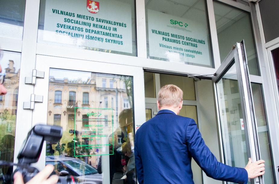 Vilniaus savivaldybės Socialinių išmokų skyrius