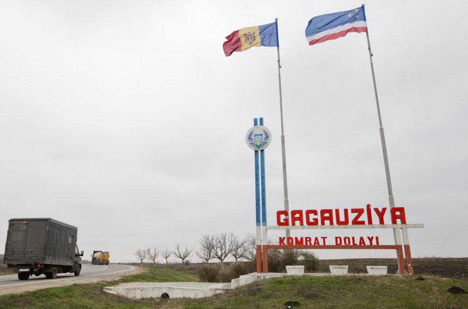 Vis labiau kaistantis taškas Moldovoje – negirdėta Gagaūzija