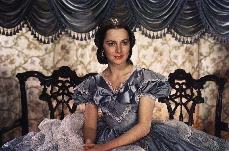 "Olivia de Havilland filme ""Vėjo nublokšti"""