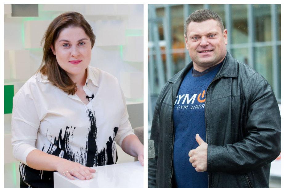 Dovilė Filmanavičiūtė, Žydrūnas Savickas