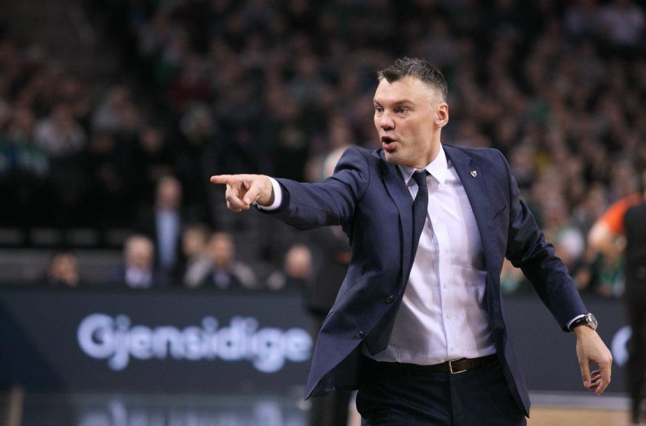 Šarūnas Jasikevičius rungtynių metu