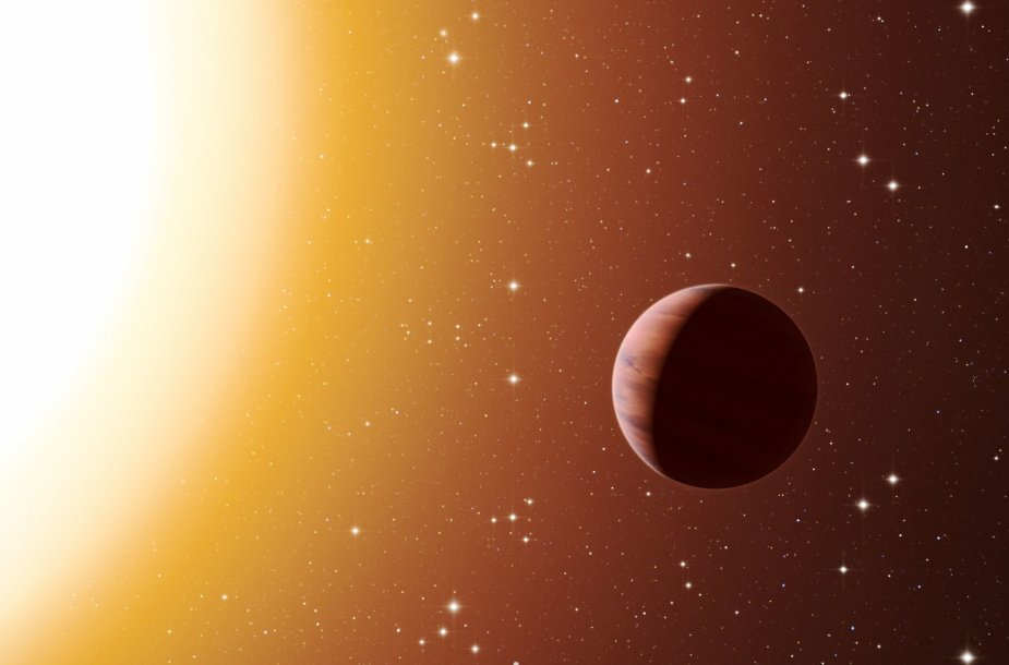 Karšta egzoplaneta