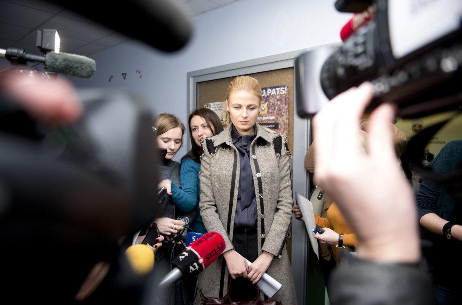 Greta Kildišienė atsisakė Seimo nario mandato