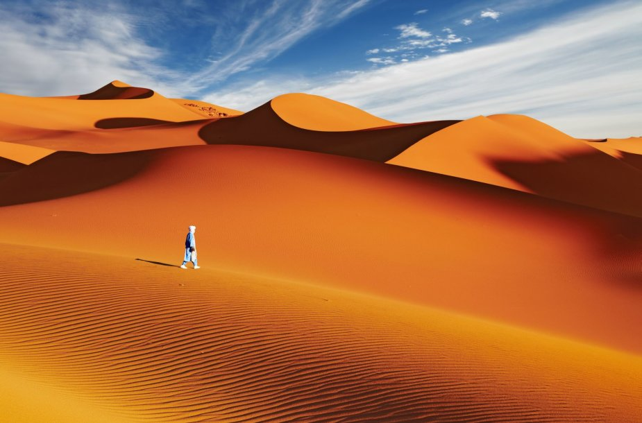 Sacharos dykuma, Alžyras