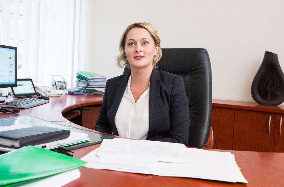 Nacionalinės žemės tarnybos direktorė Daiva Gineikaitė