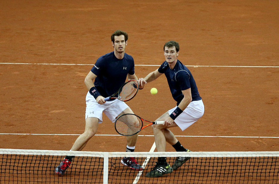 Andy Murray ir Jamie Murray