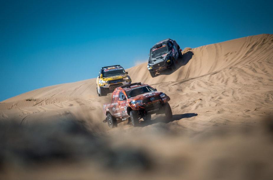 """KREDA"" ekipažas Dakare"