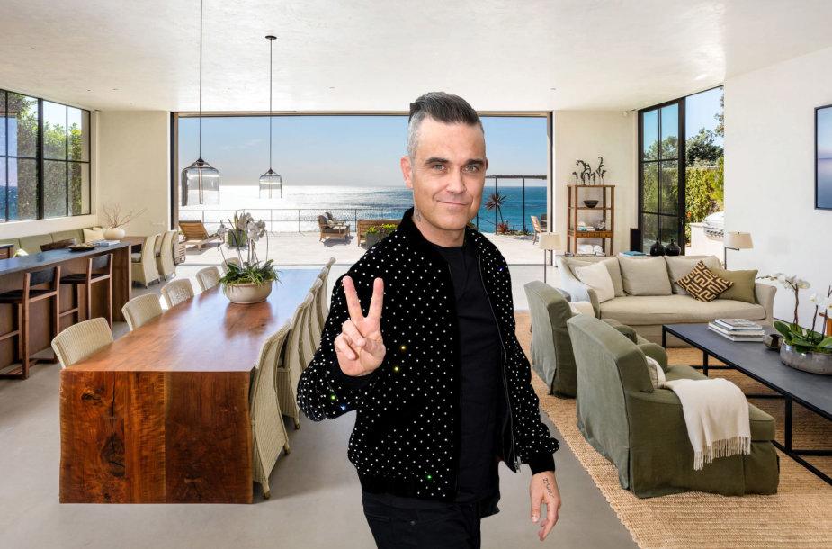 Robbie Williamsas nusipirko vilą Malibu už 21 mln. JAV dolerių