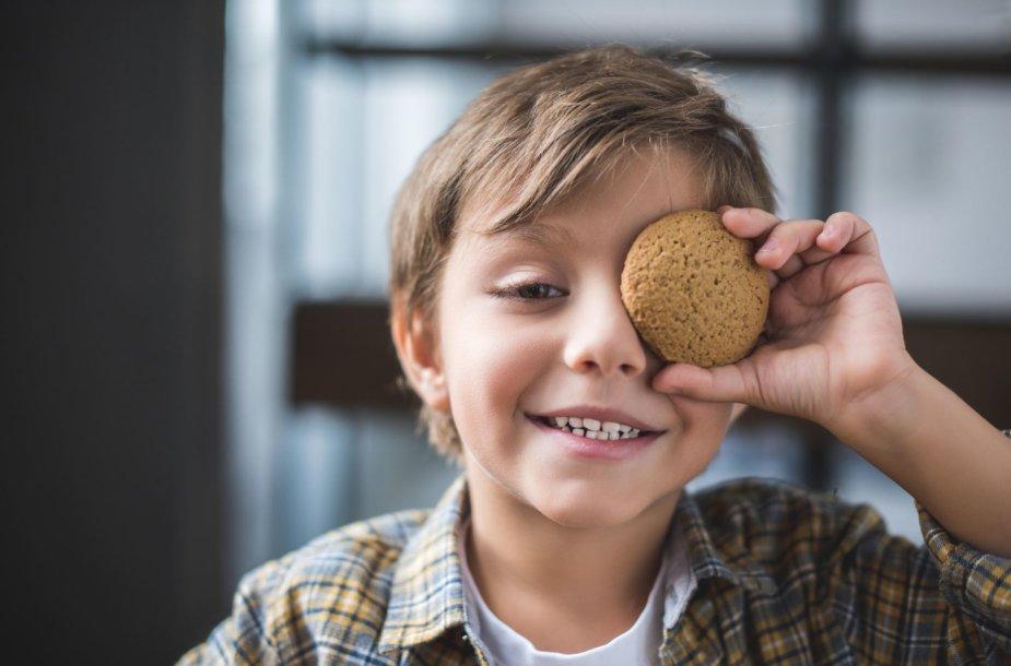 Berniukas ir sausainis