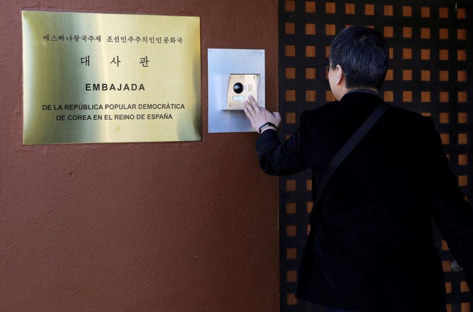 Šiaurės Korėjos ambasada Madride