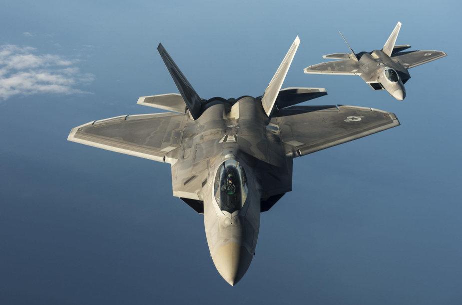 "Naikintuvai ""F-22 Raptor"""