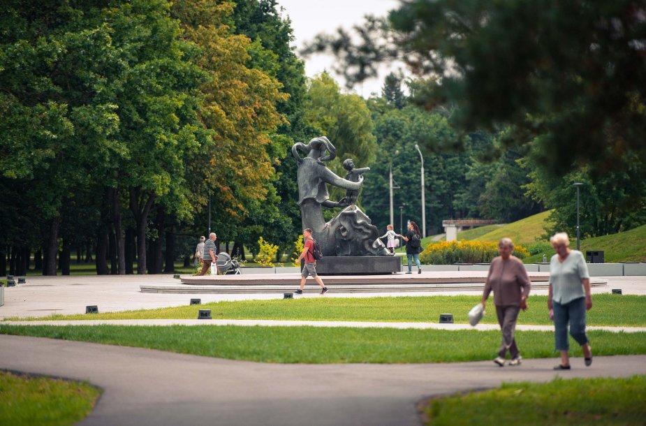 Kaunas atidaro naujai rekonstruotą Draugystės parką