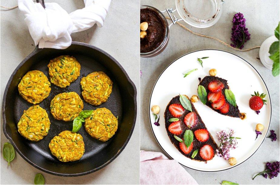Veganiškų patiekalų duetas