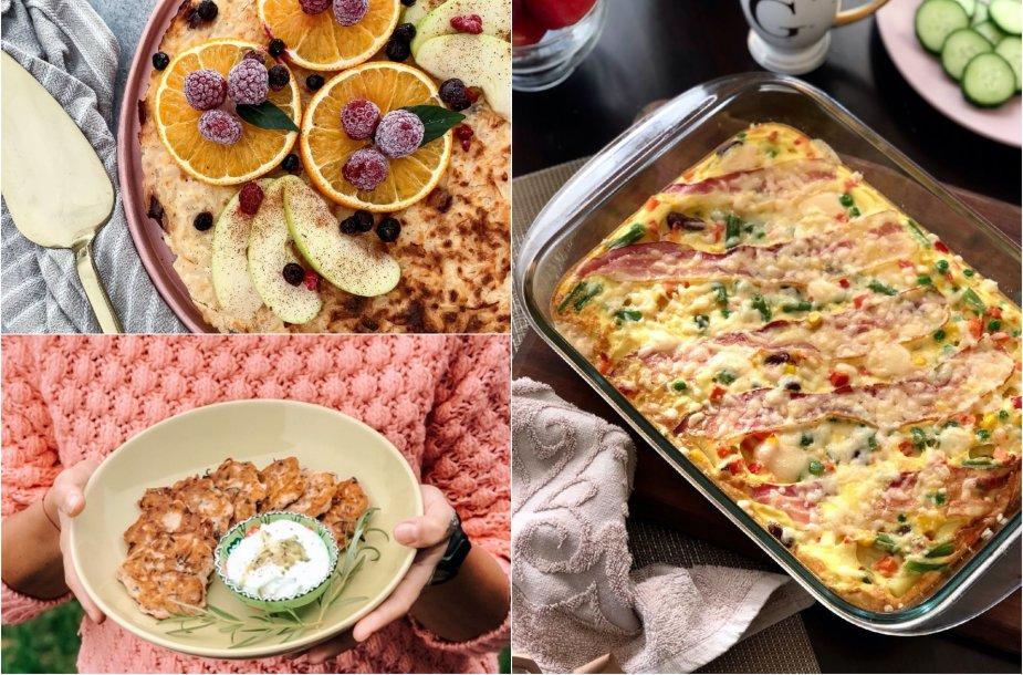 Nebrangūs ir skanūs pusryčių patiekalai